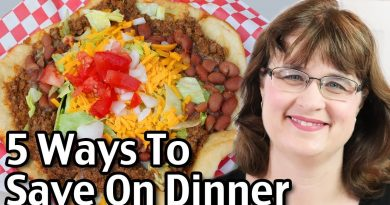 Navajo Fry Bread Tacos Recipe - 5 Ways To Save On Dinner! 3