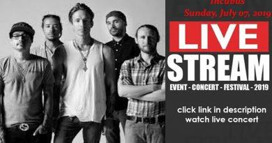 LIVESTREAM: Incubus (LIVE) at Midflorida Credit Union Amphitheatre, Tampa, FL, US 3