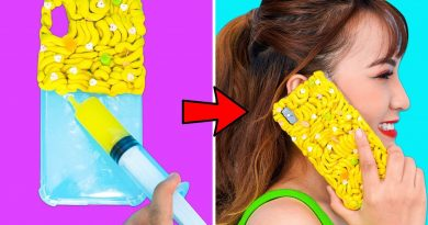 Girl DIY! 13 PHONE CASE IDEAS YOU CAN MAKE IN 5 MINUTES | COOL DIY PHONE CASE IDEAS | PHONE HACKS 4