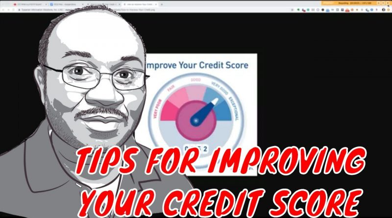Tips for Improving your Credit Score 1