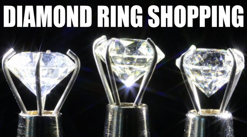 THE 3 BEST DIAMOND RING SHOPPING TIPS TO SAVE MONEY!! 1