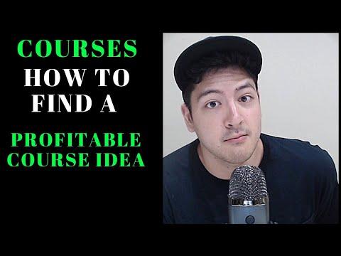 How to find a profitable course idea? | Make money online | 4dmbox lessons 1