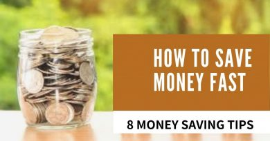 How To Save Money Fast - 8 Money Saving Tips 4