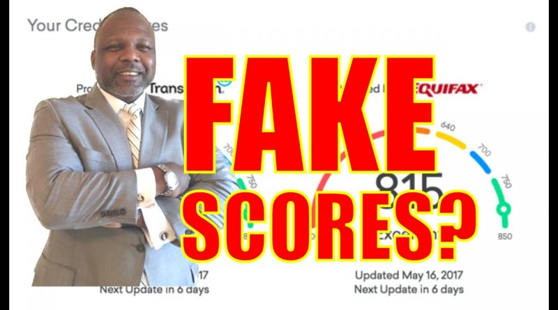 ARE CREDIT KARMA SCORES FAKE? || LOAN UNDERWRITING 1