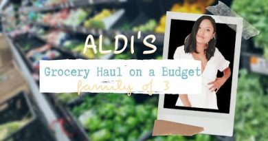 Aldi's Weekly Grocery Haul (2019) | healthy groceries on a budget family of 3 | BETTYSMILES 3