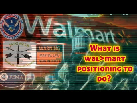 """""""Orwellian Surveillance"""" via Wal_Mart & Social Credit Score May Be Implemented For You To Bare Arms 2"""
