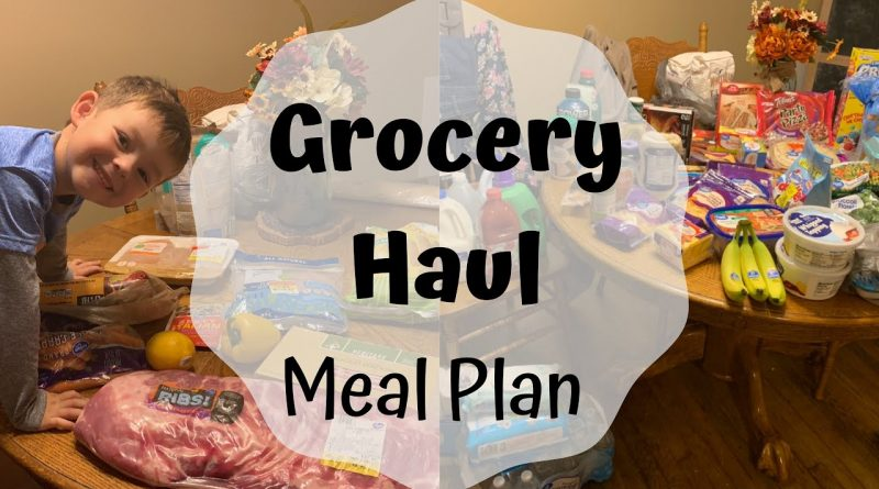 Grocery Haul || Meal Plan 1