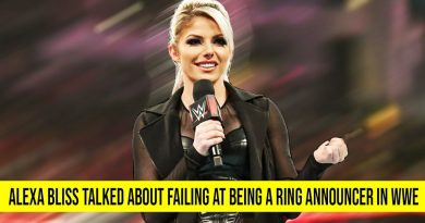 Alexa Bliss Talked About Failing at Being a Ring Announcer in WWE 4