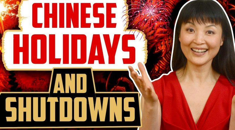Sourcing From China? Chinese Holidays & Shut Downs || Sourcing Warrior 1