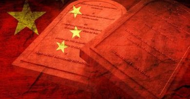 Threatened by Social Credit Score Christians in China Replace Ten Commandments With Xi Jinping Quote 3