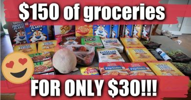 $150 Grocery Haul for only $30!   Feeding a Family of 6 on $200 a Month 2