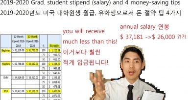 [2019 updated] Ph.D. student true salary and money-saving tips 2