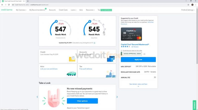How to download credit report from Credit Karma 1
