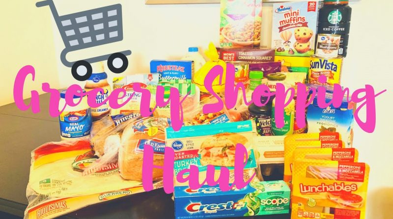 Grocery Shopping Haul | Couponing | Shop With Me 1