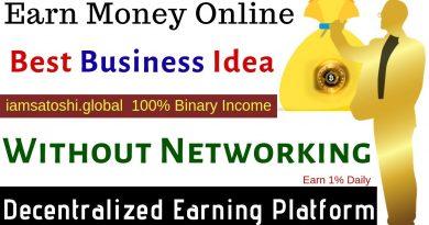 Earn Money Online |Best Business Idea | Without Networking | Iamsatoshi.global Decentralized Earning 4