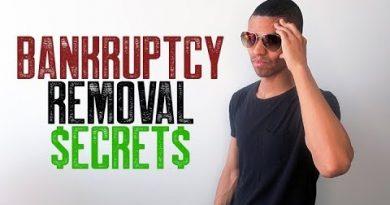 BANKRUPTCY REMOVAL SECRETS || CREDIT REPAIR TOP SECRETS 4