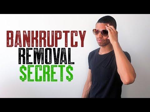 BANKRUPTCY REMOVAL SECRETS || CREDIT REPAIR TOP SECRETS 1