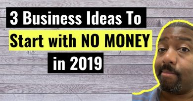 3 Business Ideas To Start With NO MONEY in 2019 2