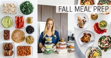 MEAL PREP for FALL | healthy recipes + PDF guide 4