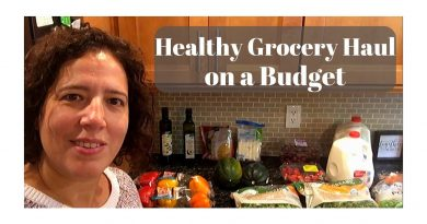 Healthy Weekly Grocery Haul on a Budget 3