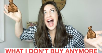 THINGS I DON'T BUY ANYMORE || MINIMALISM AND SAVING MONEY TIPS 4