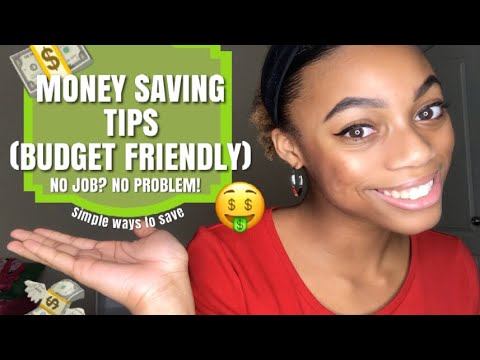 Tips for Saving Money| Low-Income and Budget Friendly| College Student on a Budget 1
