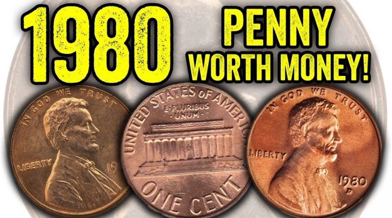 YOUR 1980 COULD BE WORTH THOUSANDS!!! RARE LINCOLN PENNY COINS WORTH MONEY!! 3
