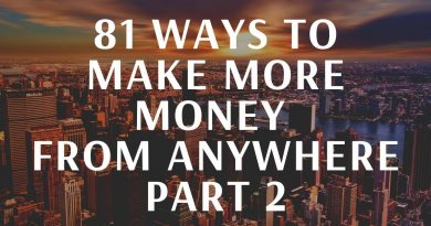 81 LEGIT WAYS TO MAKE MONEY, Passive and active Income ideas - How To Make Money anywhere part 2 2