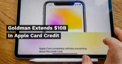 Goldman Extends $10B In Apple Card Credit 3