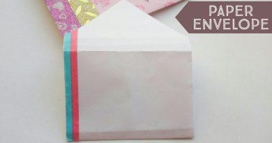 Simple Handmade Gift Envelope | Gift Envelope Ideas | Easy Gift Card Envelopes | Money Gift Envelope 3