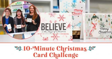 Who Made the Best Handmade Christmas Card in 10 Minutes? | Scrapbook.com Exclusive 4