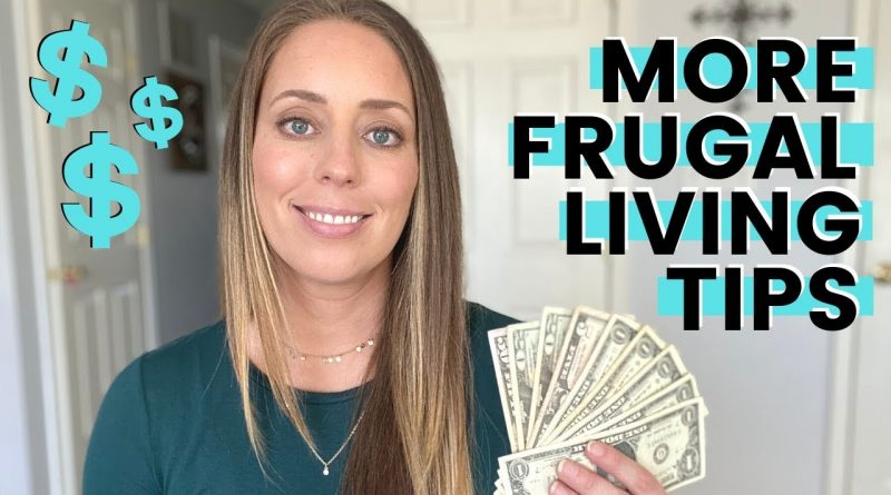 FRUGAL LIVING HACKS That Really Work   MORE frugal living tips to SAVE MONEY 1