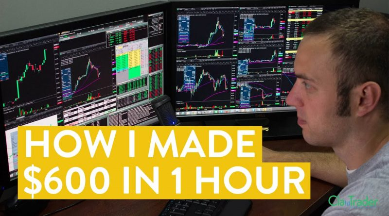 [LIVE] Day Trading   How I Made $600 Online (I Love the Stock Market!) 1