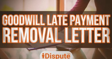 HOW TO WRITE A GOODWILL LETTER TO REMOVE LATE PAYMENTS, SEND TO THE CREDITOR - iDispute.org 4