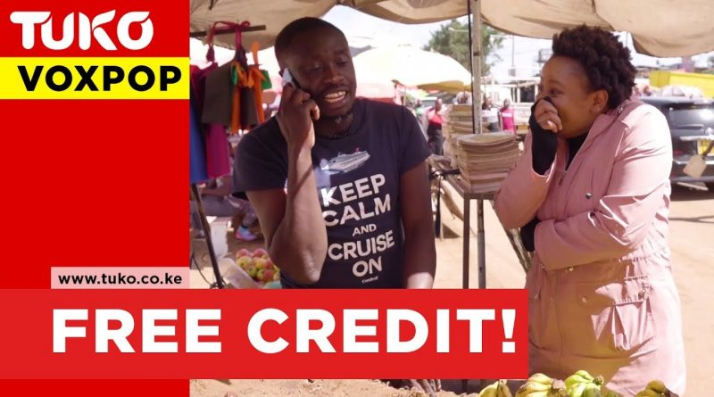 Giving our audience free credit    Tuko TV   VOXPOP 1