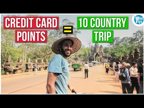 Maximized Credit Card Points For (7 Continent) Round The World Trip 1