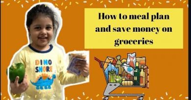 How to meal plan and save money on groceries 4