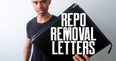 REPO REMOVAL LETTERS || HOW TO REMOVE A REPOSSESSION FROM CREDIT REPORTS || BRANDON WEAVER 4