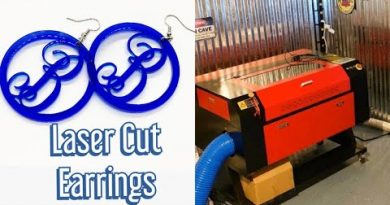 Laser Cutting/Engraving Ideas #4 - Custom Acrylic Earrings - Make Money with Your Laser Cutter 2