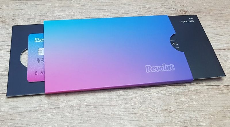 Revolut Card Debit Unboxing Review 1
