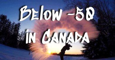 When it is -50 in Canada || Frozen Fun in Freezing Temperatures 2
