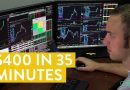 [LIVE] Day Trading | $400 in 35 Minutes