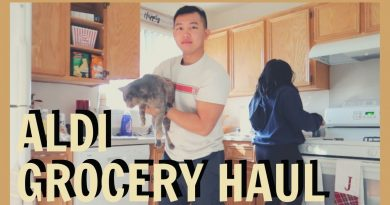 $45 ALDI GROCERY HAUL ON A BUDGET FOR TWO // YOUNG MARRIED MILITARY COUPLE VLOG 2