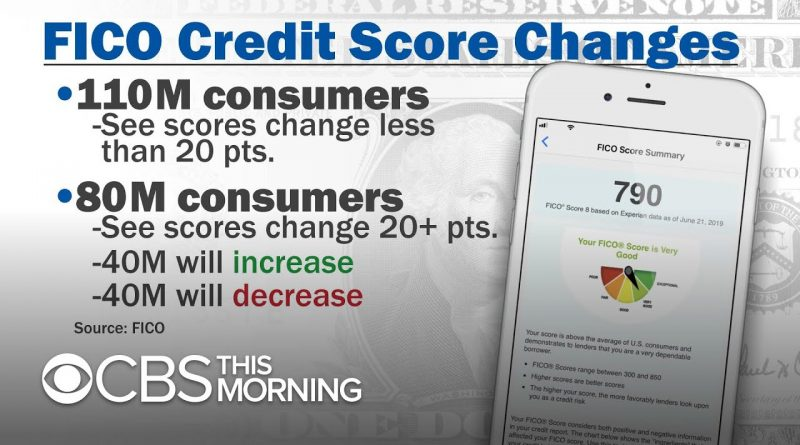 FICO credit score system updates to affect millions of Americans 1