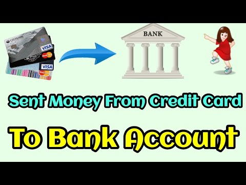 How To Transfer Money From Credit Card To Bank | Credit Card To Bank Transfer. 1