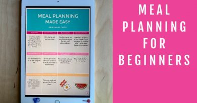 How to Use a Weekly Meal Planner and Meal Planning Binder 2