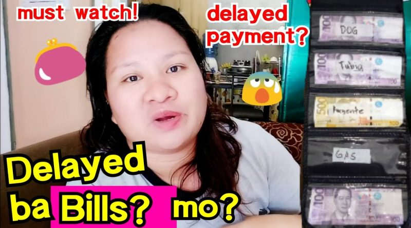 HOW TO SAVE MONEY FOR BILLS?(PAANO MAG IPON?)+TIPS!!| OURFAMILYBUDGET 3