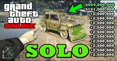 *SOLO* MONEY GLITCH OUT TODAY *$45,000,000* IN GTA 5 ONLINE (SOLO MONEY GLITCH) PS4/XBOX ONE/PC! 4