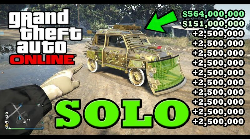 *SOLO* MONEY GLITCH OUT TODAY *$45,000,000* IN GTA 5 ONLINE (SOLO MONEY GLITCH) PS4/XBOX ONE/PC! 10
