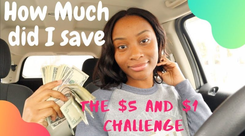 The $5 Dollar Challenge|Subconsciously Saving Money 9